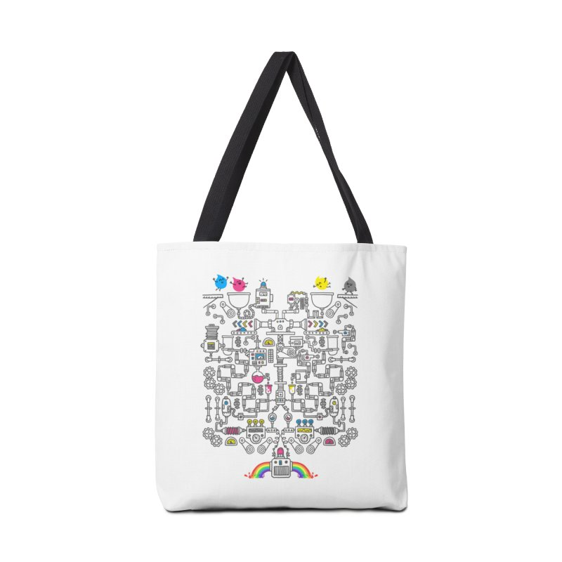 The Amazing Color Machine Accessories Tote Bag Bag by Rodrigobhz