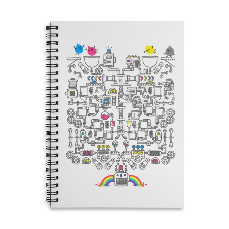 The Amazing Color Machine Accessories Notebook by Rodrigobhz