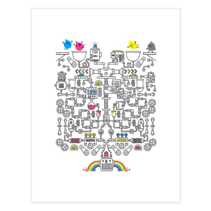 The Amazing Color Machine Home Fine Art Print by Rodrigobhz
