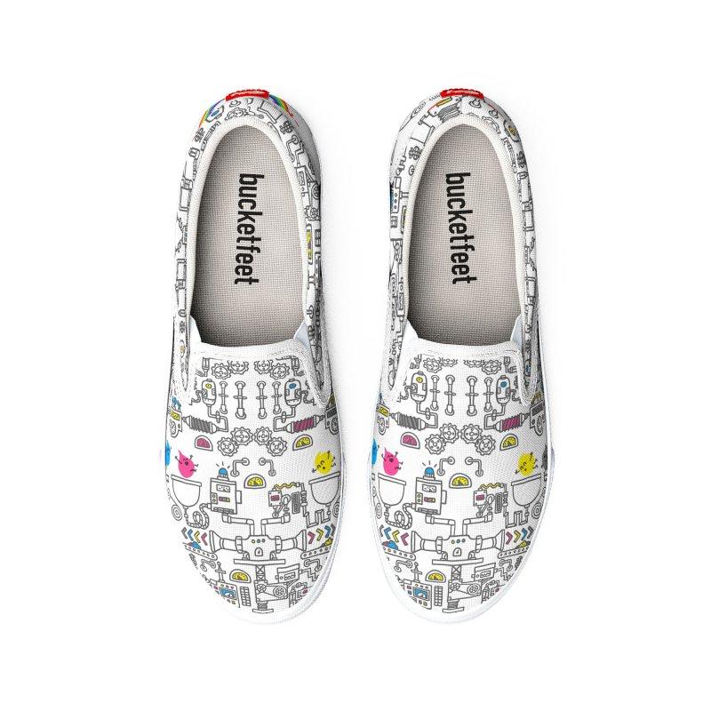 The Amazing Color Machine Women's Shoes by Rodrigobhz