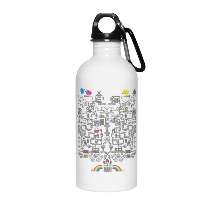 The Amazing Color Machine Accessories Water Bottle by Rodrigobhz