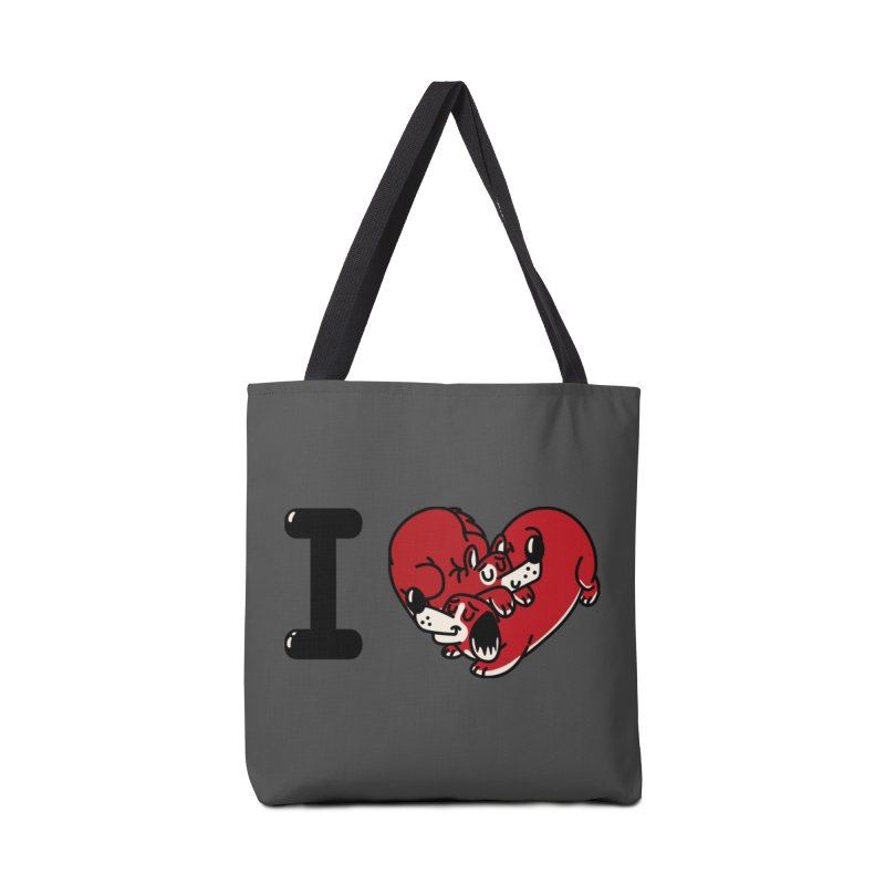 I heart dogs Accessories Tote Bag Bag by Rodrigobhz