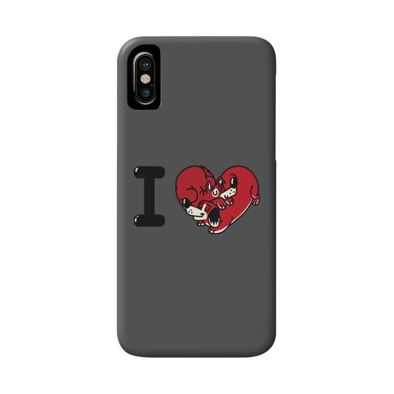 I heart dogs Accessories Phone Case by Rodrigobhz