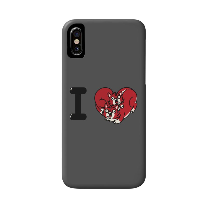 I heart cats Accessories Phone Case by Rodrigobhz