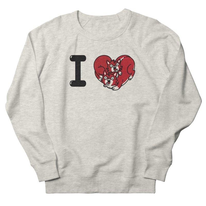 I heart cats Women's French Terry Sweatshirt by Rodrigobhz