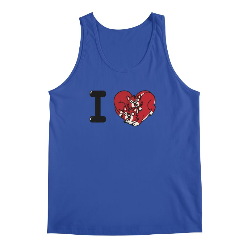 I heart cats Men's Regular Tank by Rodrigobhz