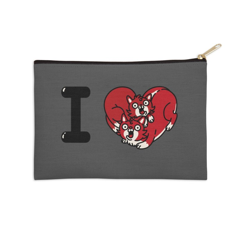 I heart cats Accessories Zip Pouch by Rodrigobhz