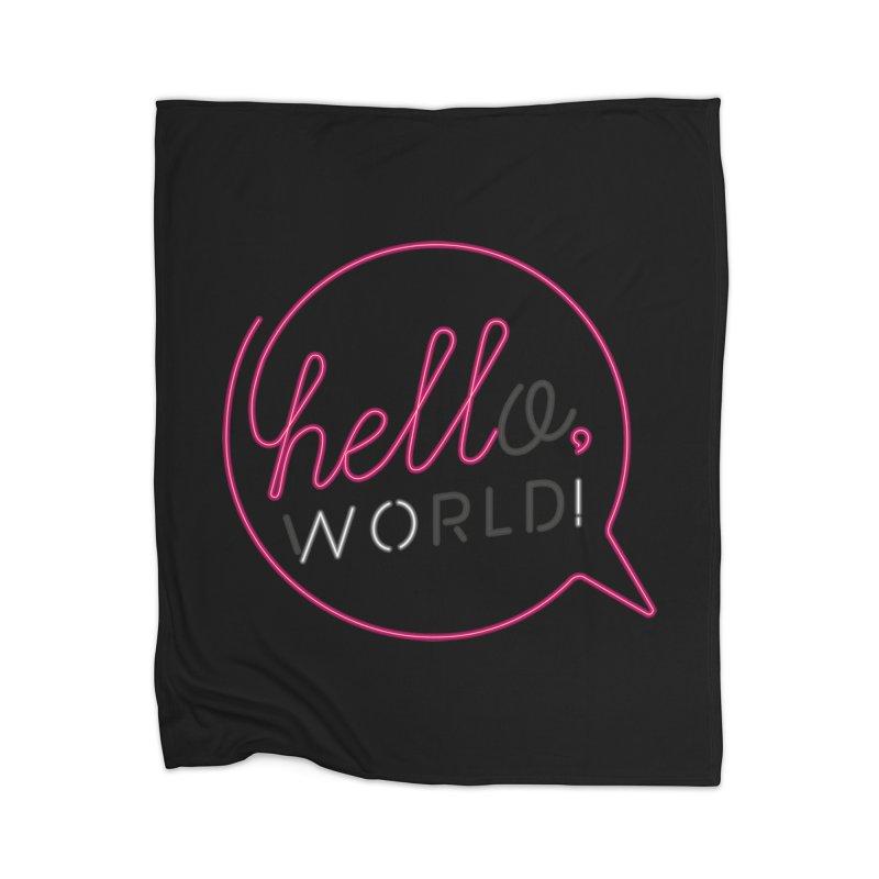 Hello, world! Home Blanket by Rodrigobhz