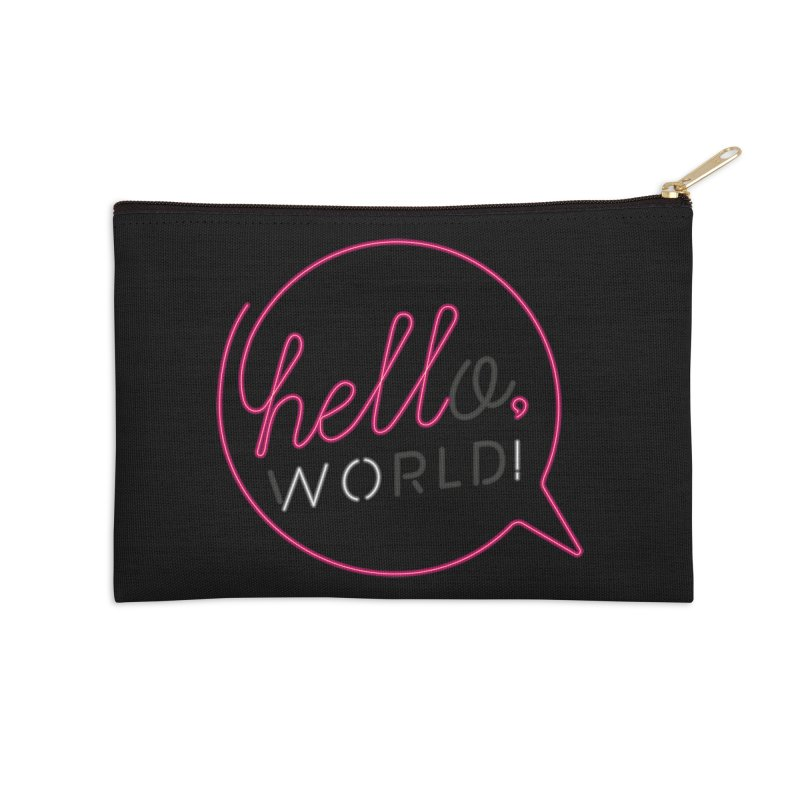 Hello, world! Accessories Zip Pouch by Rodrigobhz
