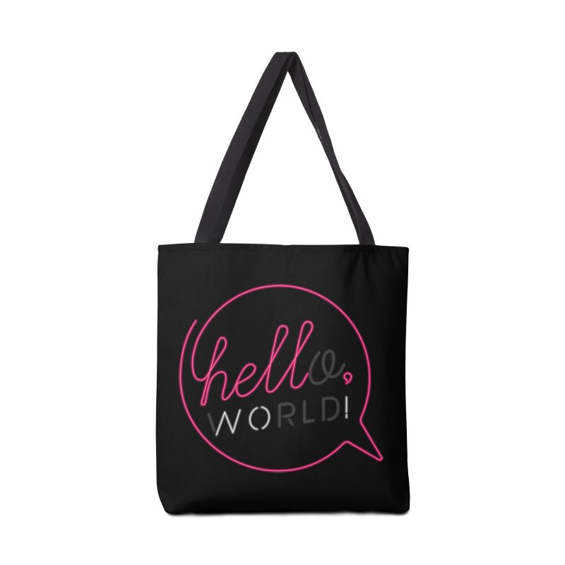 Hello, world! Accessories Tote Bag Bag by Rodrigobhz