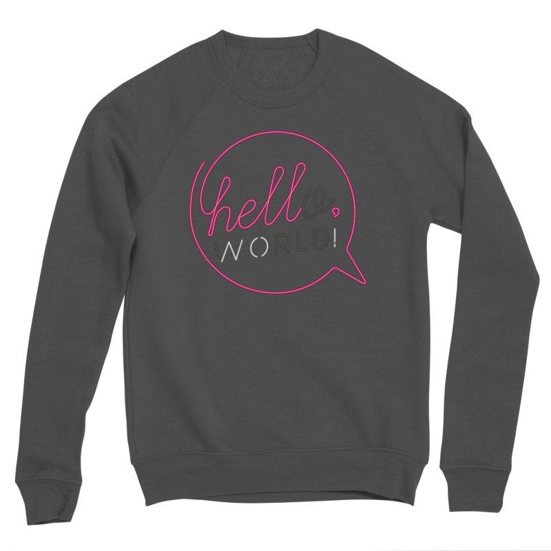 Hello, world! Men's Sponge Fleece Sweatshirt by Rodrigobhz