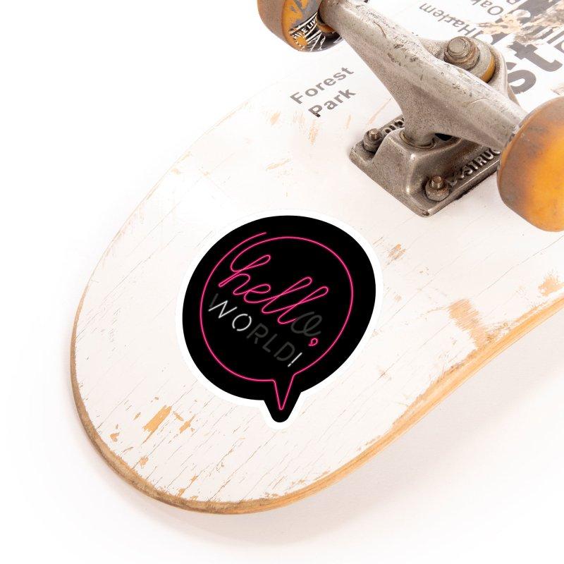 Hello, world! Accessories Sticker by Rodrigobhz