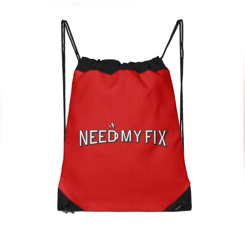 Need my fix Accessories Drawstring Bag Bag by Rodrigobhz