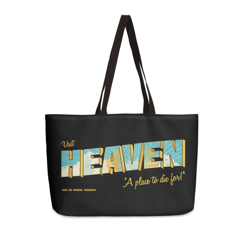 Visit heaven Accessories Weekender Bag Bag by Rodrigobhz