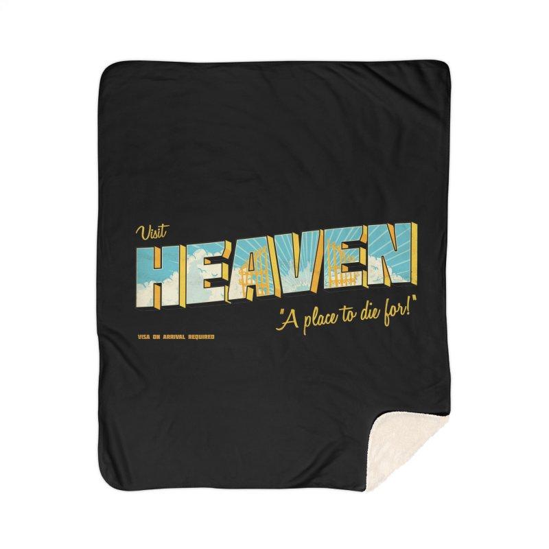 Visit heaven Home Sherpa Blanket Blanket by Rodrigobhz