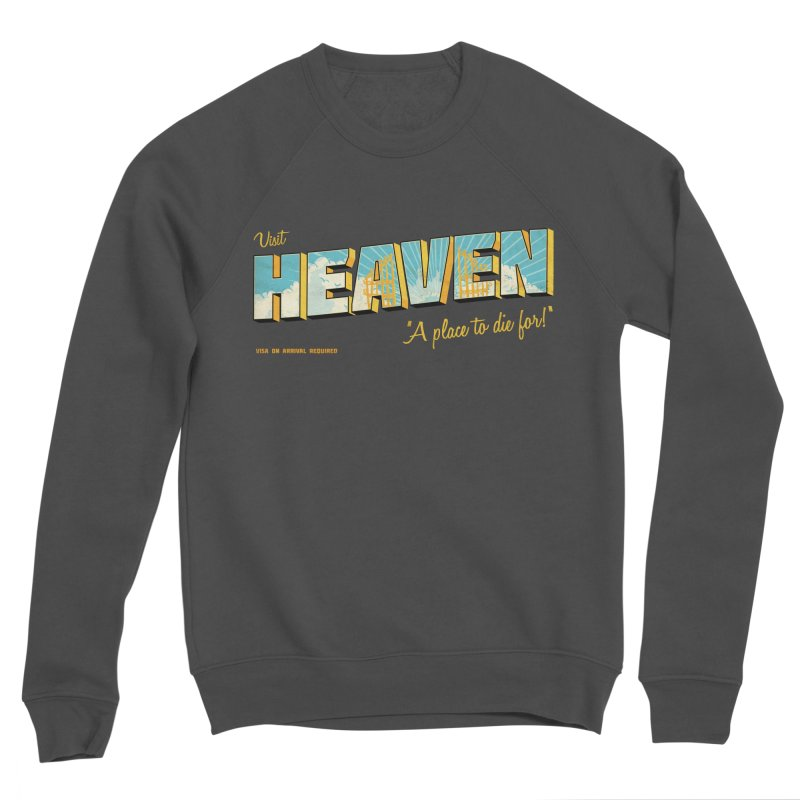 Visit heaven Women's Sponge Fleece Sweatshirt by Rodrigobhz