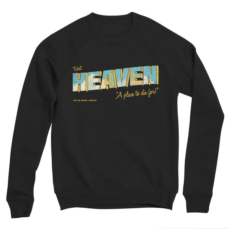 Visit heaven Men's Sponge Fleece Sweatshirt by Rodrigobhz