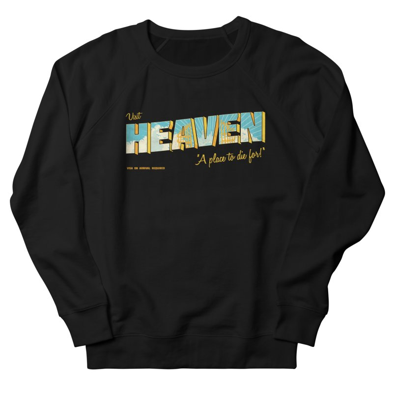 Visit heaven Men's Sweatshirt by Rodrigobhz