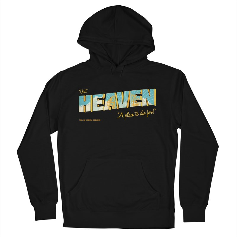 Visit heaven Women's French Terry Pullover Hoody by Rodrigobhz