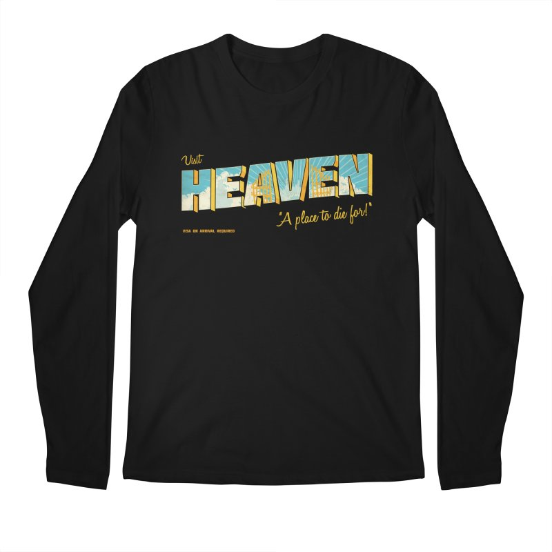 Visit heaven Men's Regular Longsleeve T-Shirt by Rodrigobhz