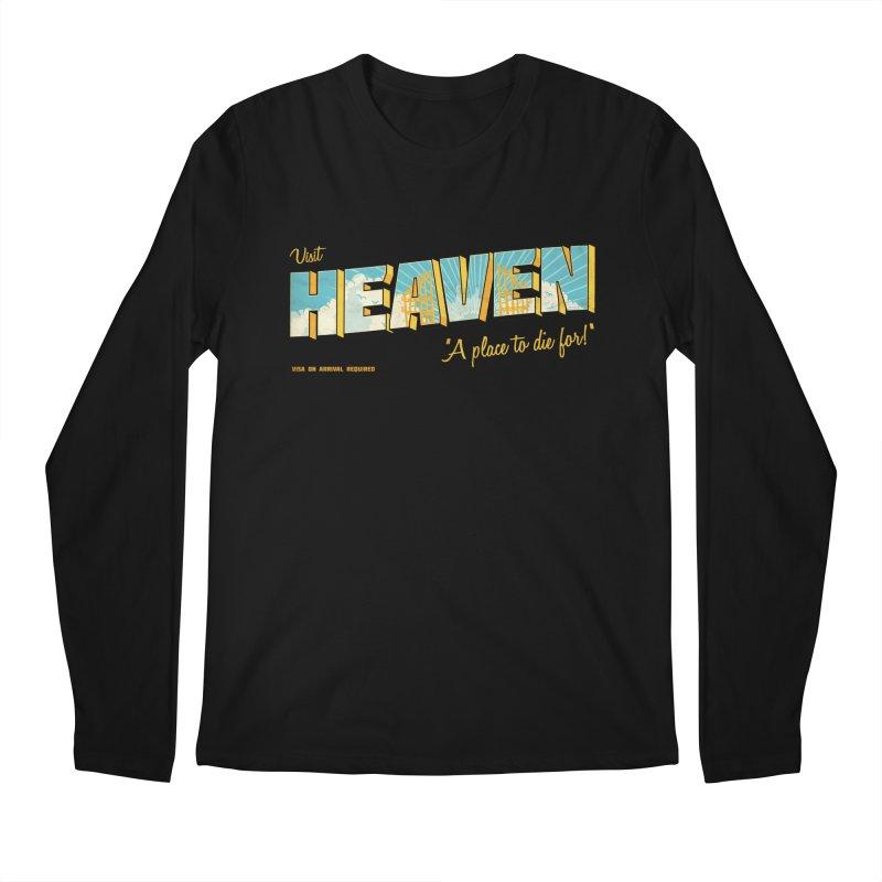 Visit heaven Men's Longsleeve T-Shirt by Rodrigobhz