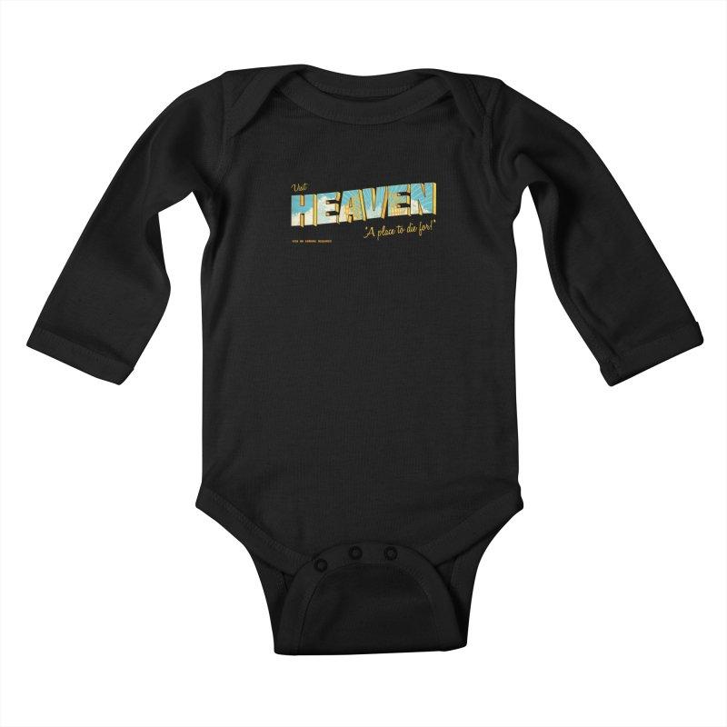 Visit heaven Kids Baby Longsleeve Bodysuit by Rodrigobhz