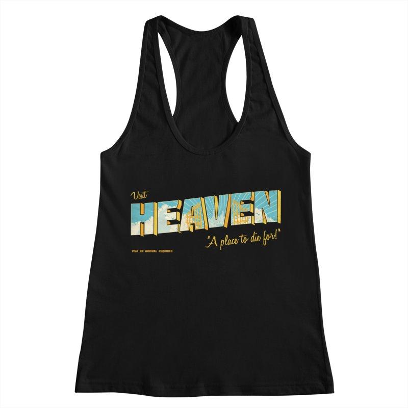 Visit heaven Women's Tank by Rodrigobhz