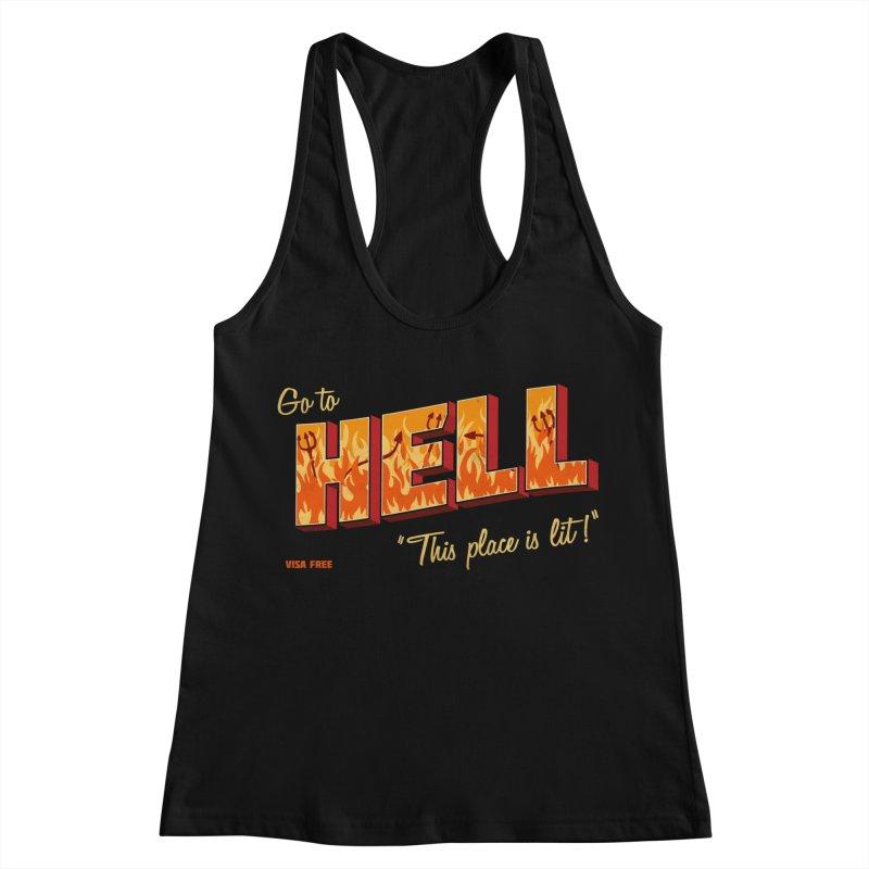 Go to Hell Women's Tank by Rodrigobhz