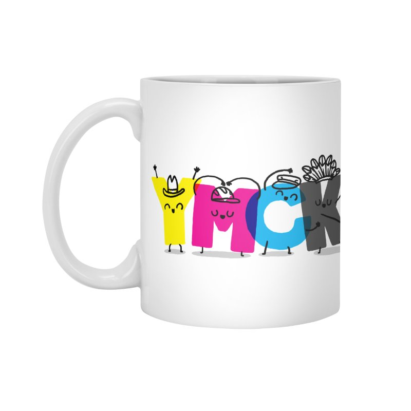 YMCK Accessories Standard Mug by Rodrigobhz