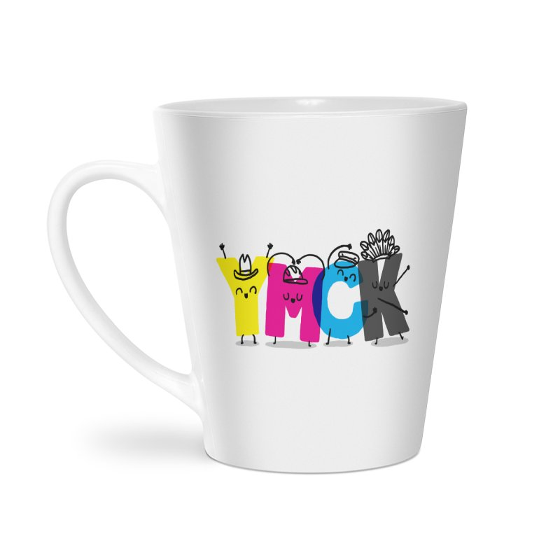 YMCK Accessories Latte Mug by Rodrigobhz
