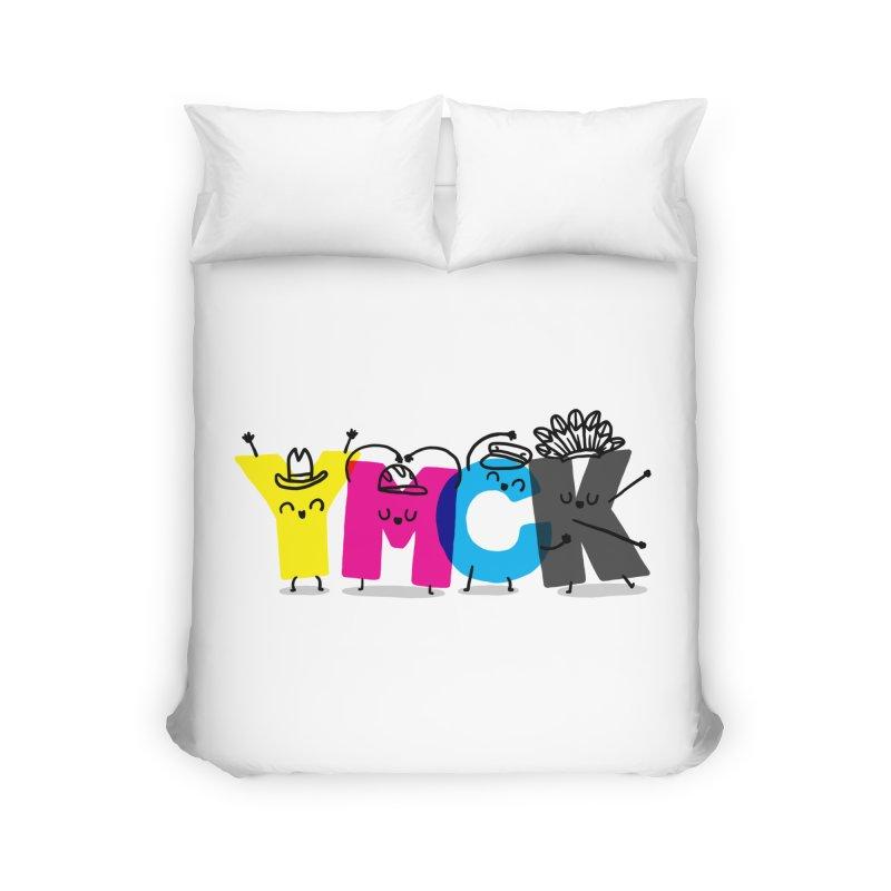 YMCK Home Duvet by Rodrigobhz