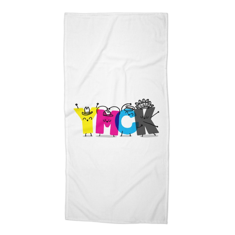 YMCK Accessories Beach Towel by Rodrigobhz