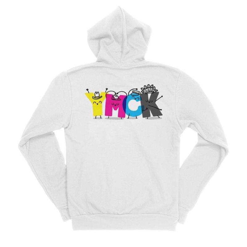 YMCK Men's Sponge Fleece Zip-Up Hoody by Rodrigobhz