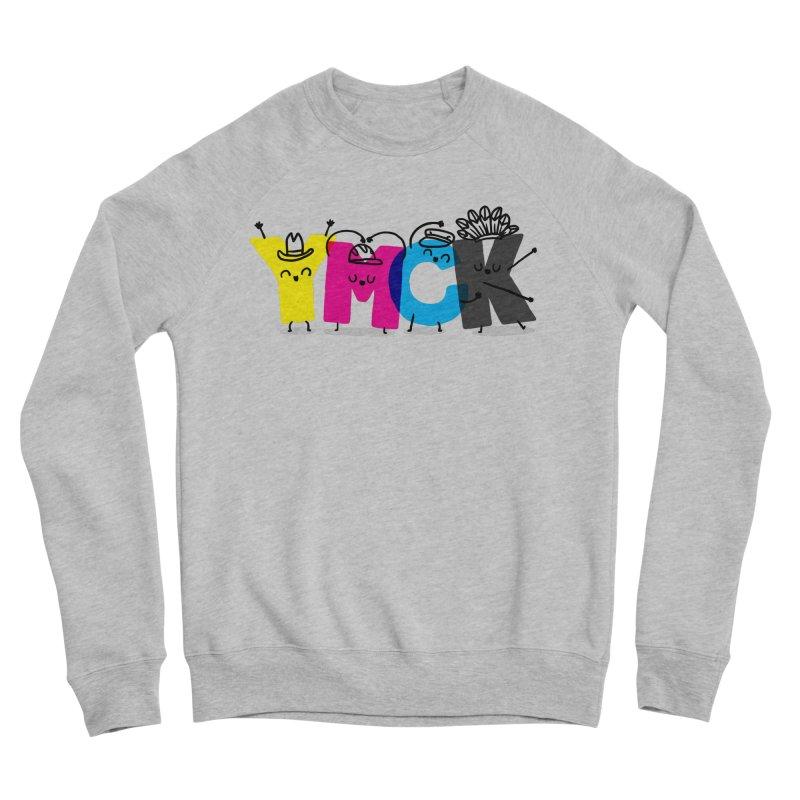 YMCK Men's Sponge Fleece Sweatshirt by Rodrigobhz