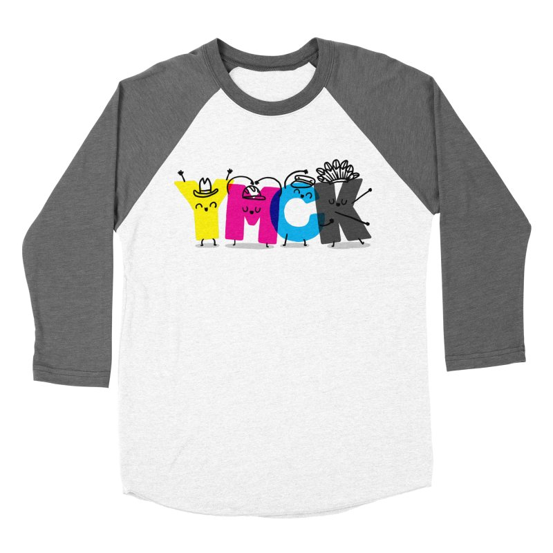 YMCK Men's Baseball Triblend Longsleeve T-Shirt by Rodrigobhz