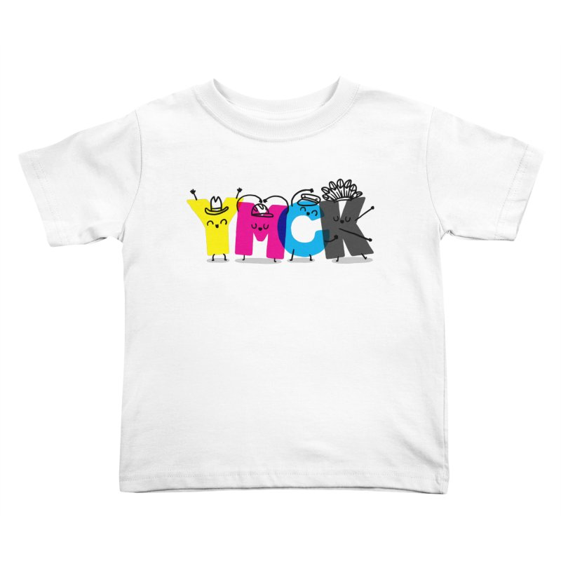 YMCK Kids Toddler T-Shirt by Rodrigobhz