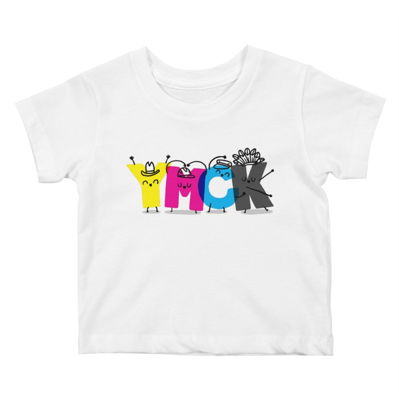 YMCK Kids Baby T-Shirt by Rodrigobhz