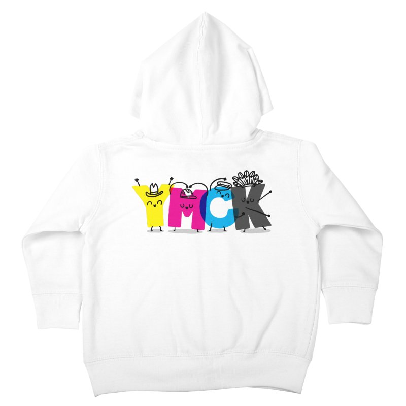 YMCK Kids Toddler Zip-Up Hoody by Rodrigobhz