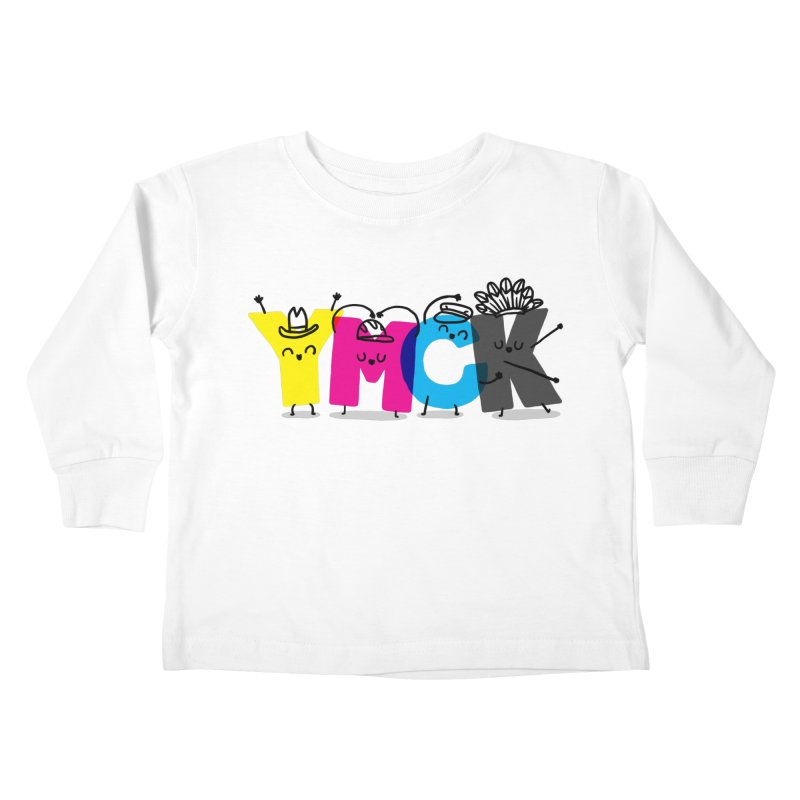 YMCK Kids Toddler Longsleeve T-Shirt by Rodrigobhz