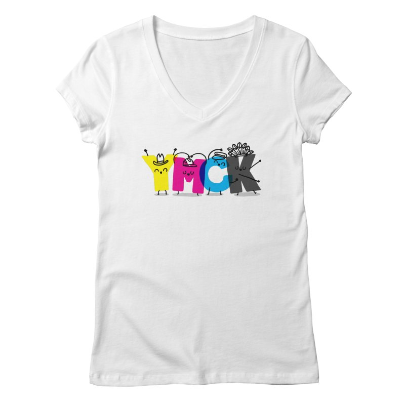 YMCK Women's V-Neck by Rodrigobhz