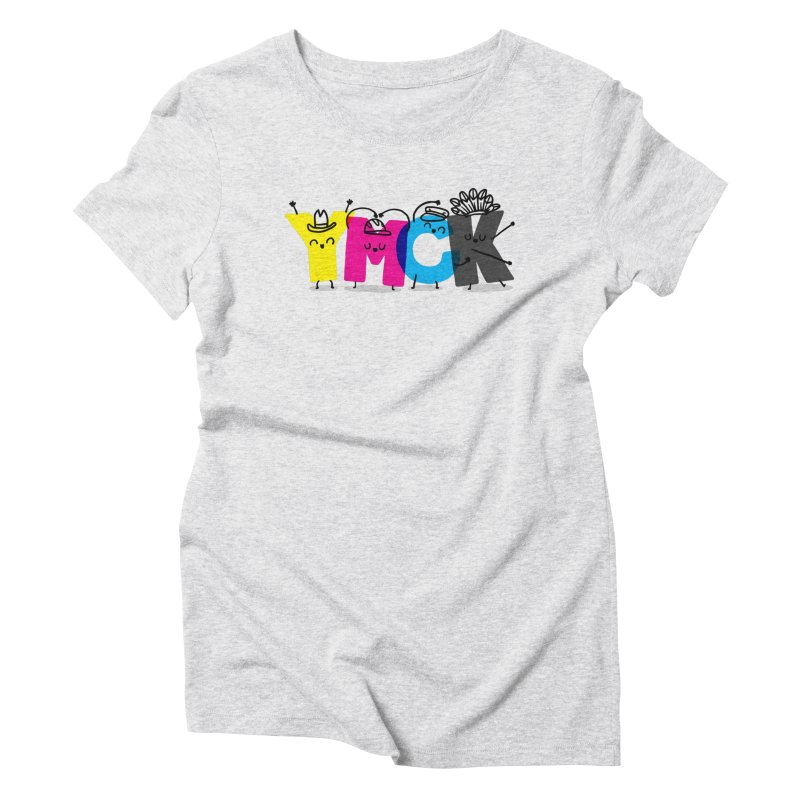 YMCK Women's Triblend T-Shirt by Rodrigobhz