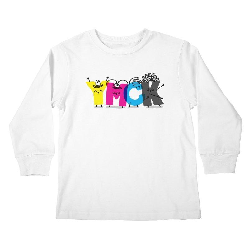 YMCK Kids Longsleeve T-Shirt by Rodrigobhz