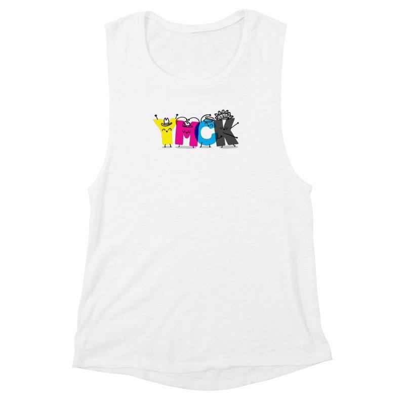 YMCK Women's Muscle Tank by Rodrigobhz