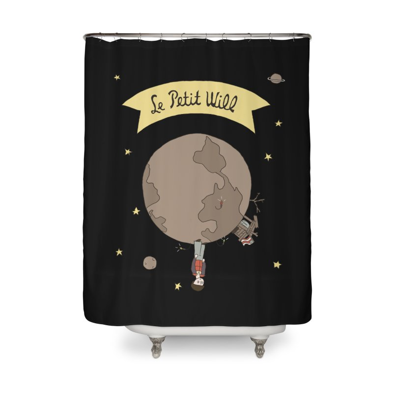 Le Petit Will Home Shower Curtain by Rodrigobhz