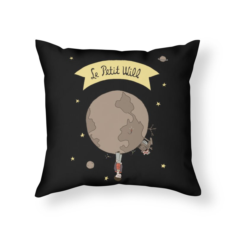 Le Petit Will Home Throw Pillow by Rodrigobhz