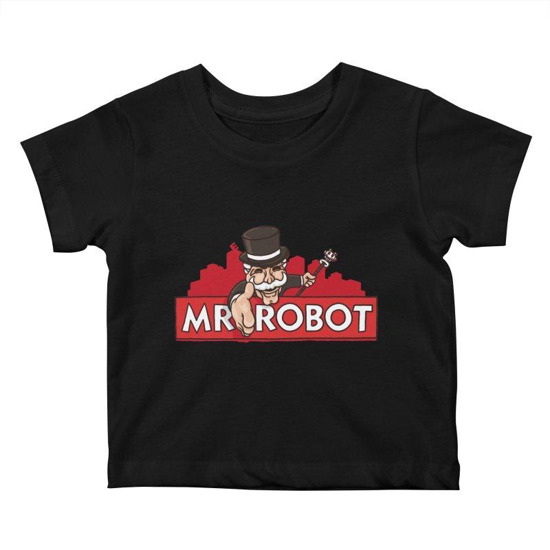 Hacked Kids Baby T-Shirt by Rodrigobhz