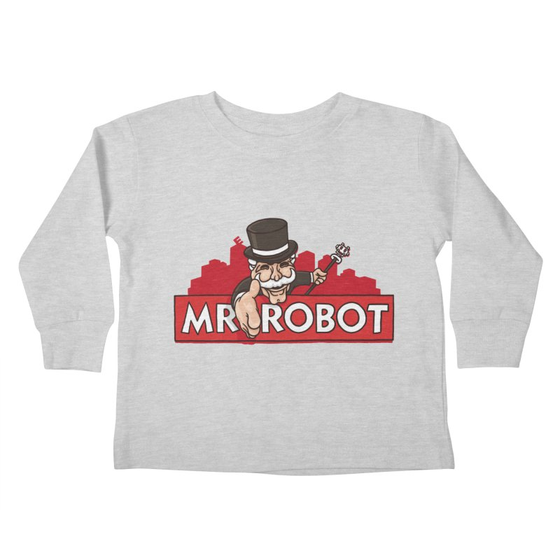 Hacked Kids Toddler Longsleeve T-Shirt by Rodrigobhz