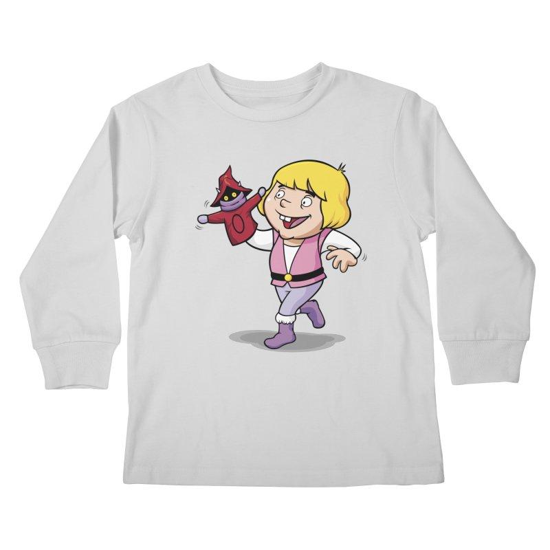Little Adam Kids Longsleeve T-Shirt by Rodrigo Habib Artist Shop