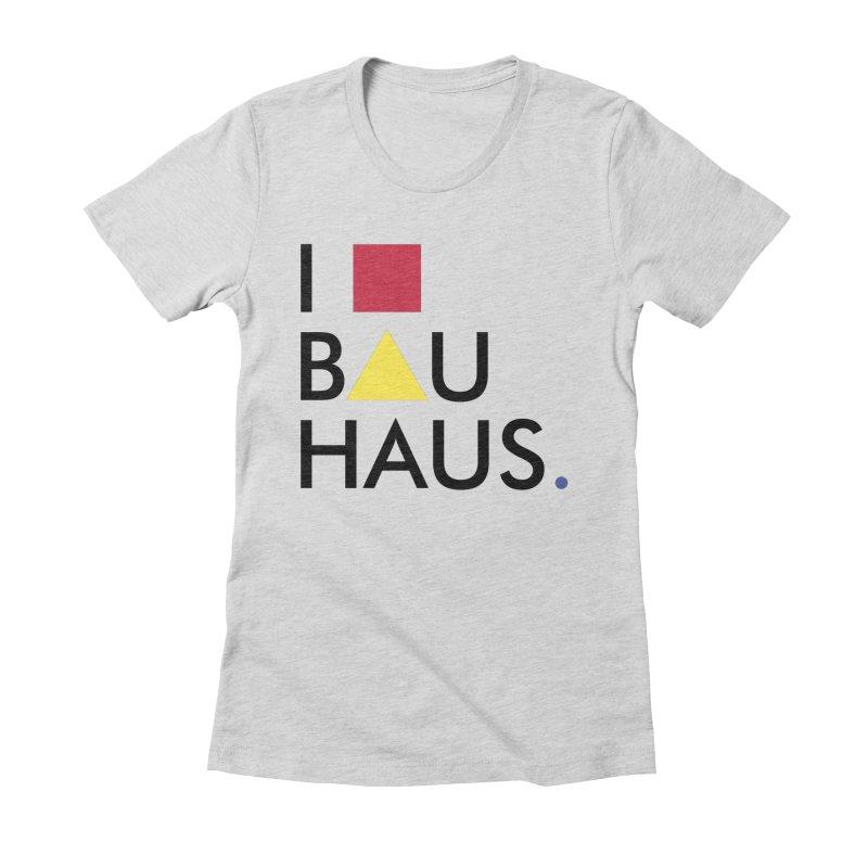I Love Bauhaus   by Rodrigo Habib Artist Shop