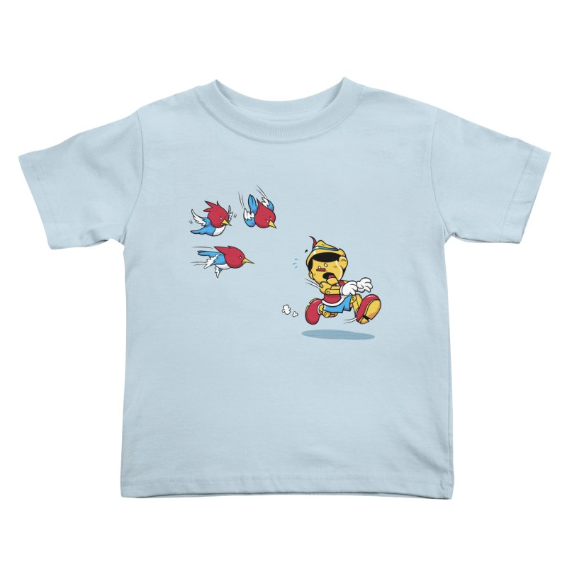 Fast Food Kids Toddler T-Shirt by Rodrigo Habib Artist Shop